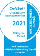 CrefoZert Siegel 2021